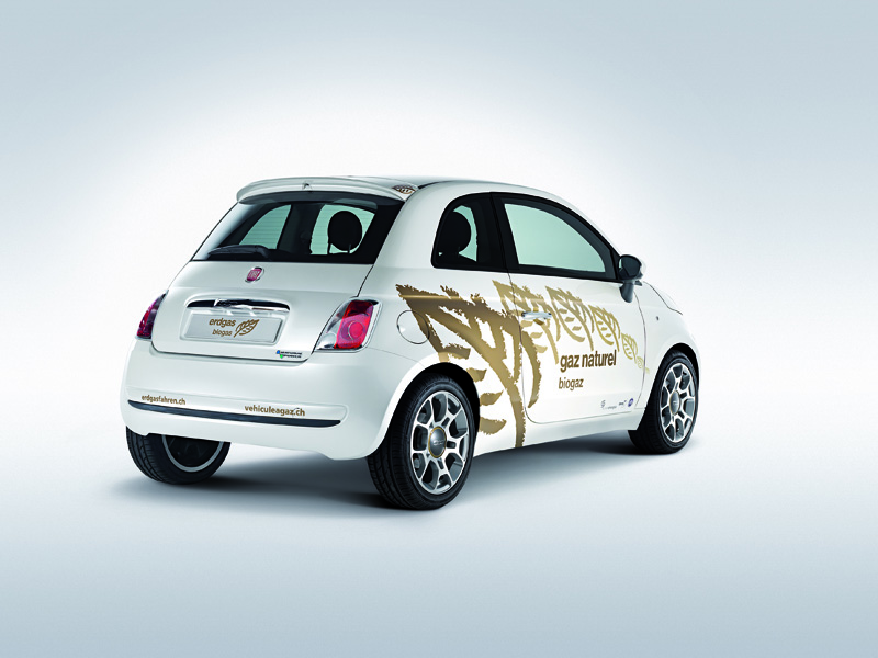 Fiat 500 Natural Power Turbo Concept
