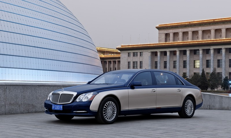 Maybach restyling
