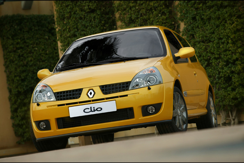 Renault Clio RS restyling (2001)