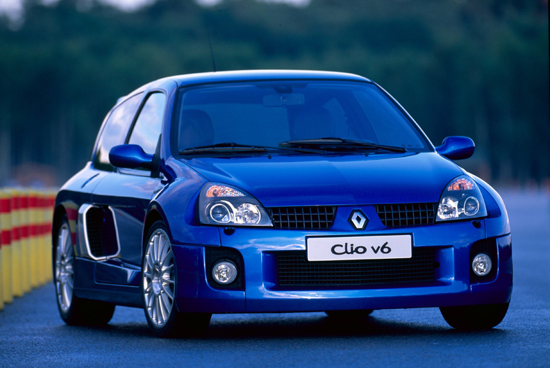 Renault Clio V6 restyling (2001)