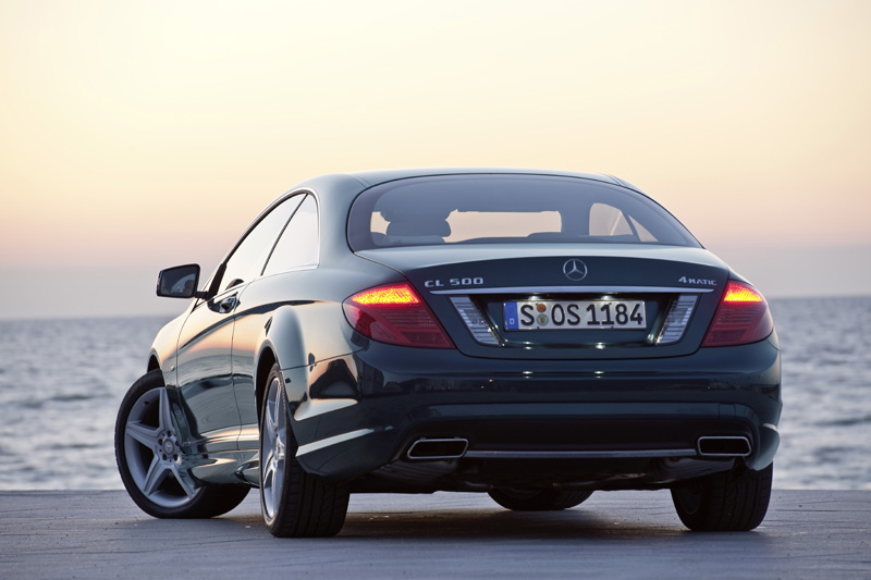 Mercedes CL restyling - La 500 BlueEFFICIENCY