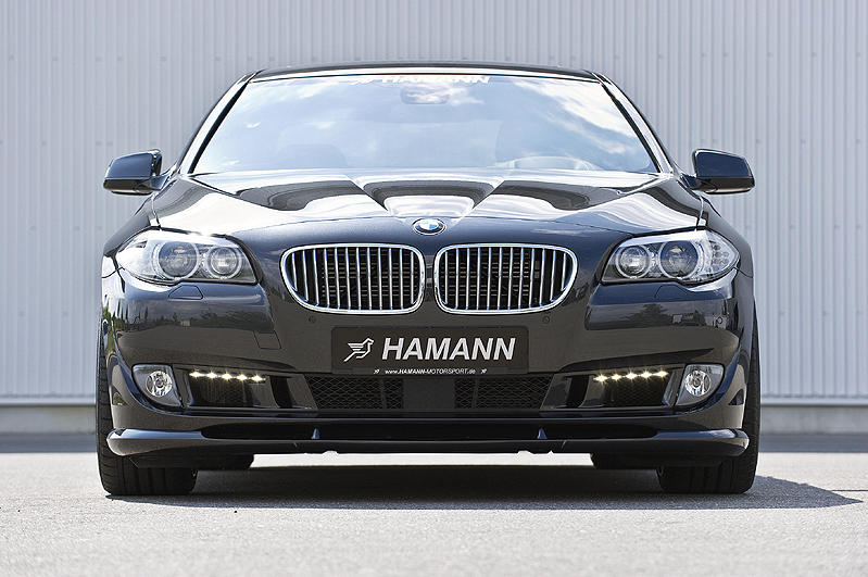 BMW serie 5 Hamann - Il frontale