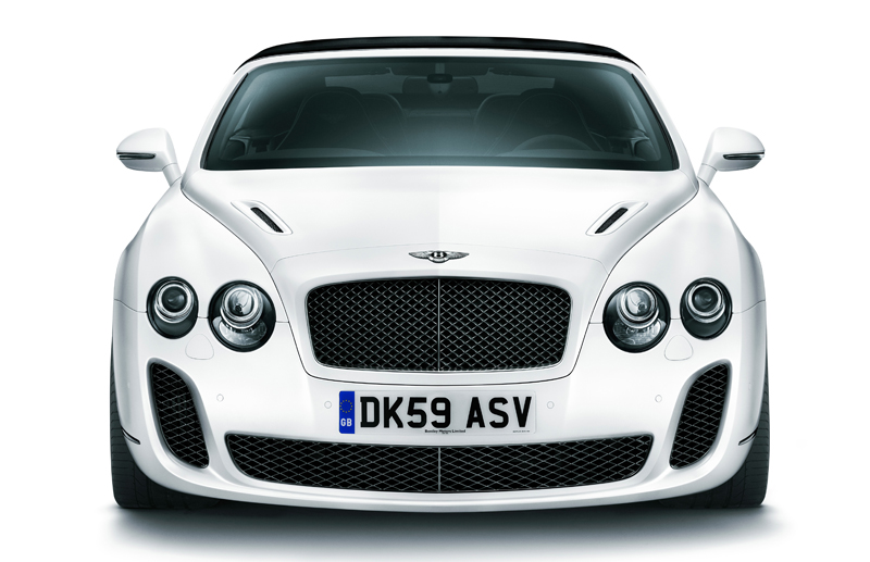 Bentley Supersports Convertible - Il frontale