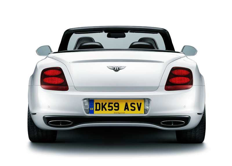 Bentley Supersports Convertible - La coda