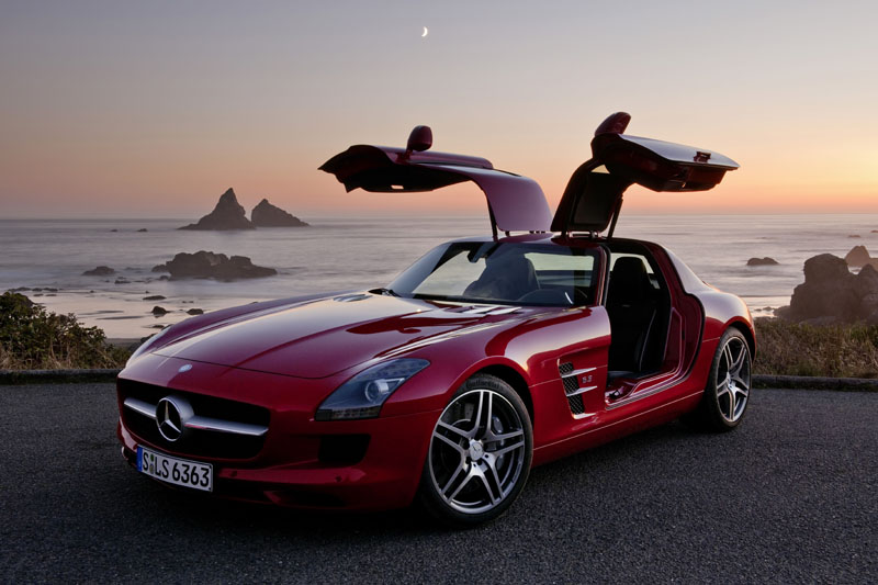 Mercedes SLS - Il frontale