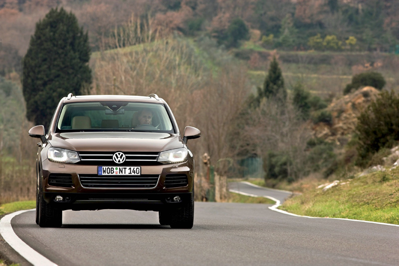 Volkswagen Touareg - Il frontale