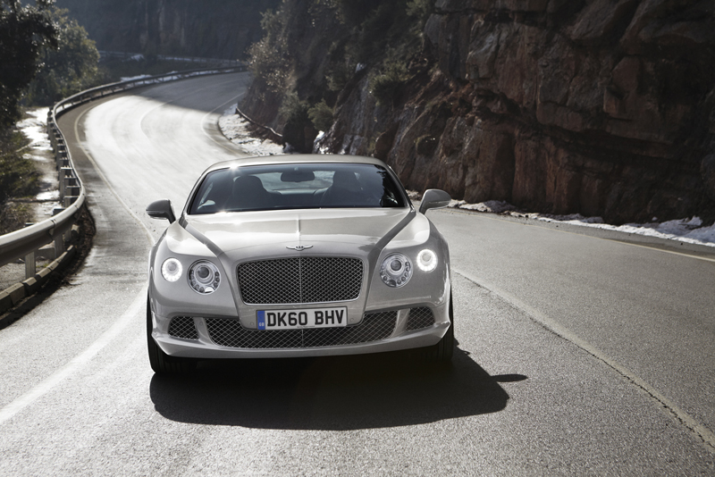 Bentley Continental GT - Il pianale