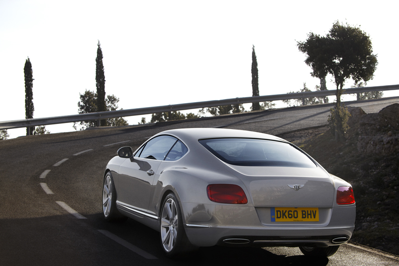 Bentley Continental GT - Le dimensioni