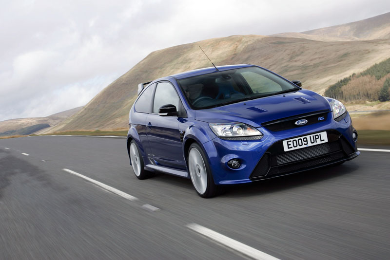 Ford Focus RS - Il frontale
