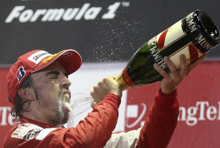 Mondiale F1 2010 - GP Singapore: Alonso superstar