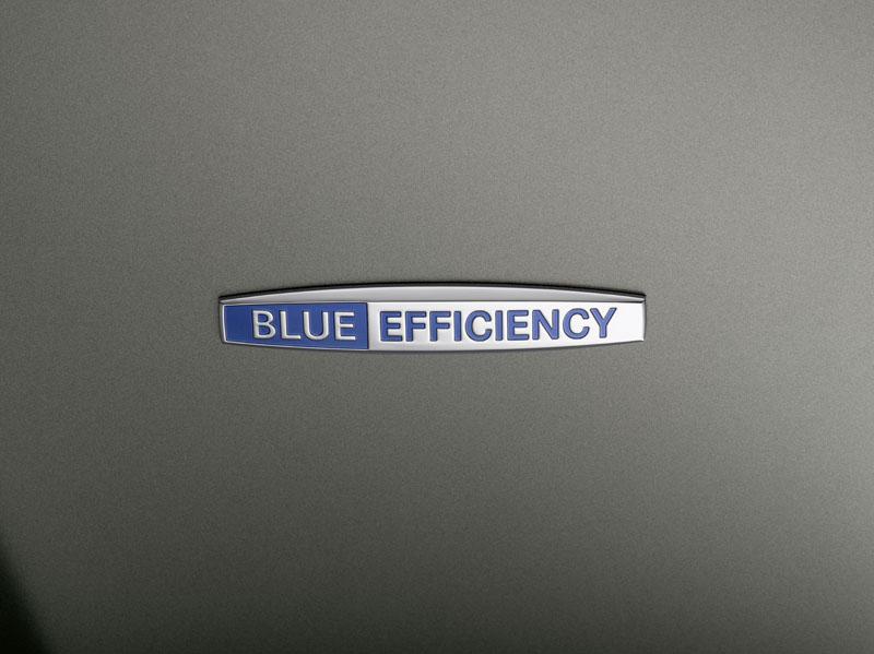 Mercedes classe E Coupé - Il logo BlueEFFICIENCY