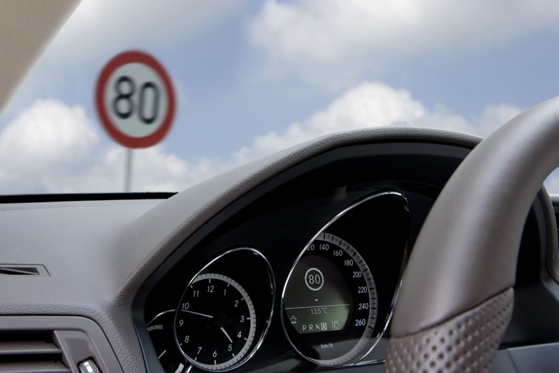 Mercedes classe E Coupé - Speed Limit Assist