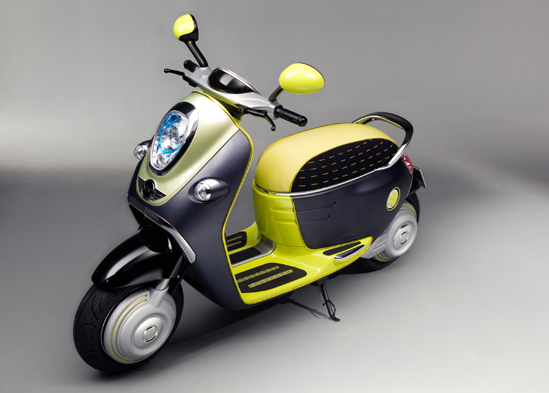 Mini Scooter E Concept - La biposto