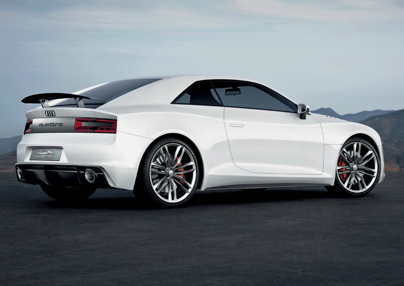 Audi quattro concept - Differenze