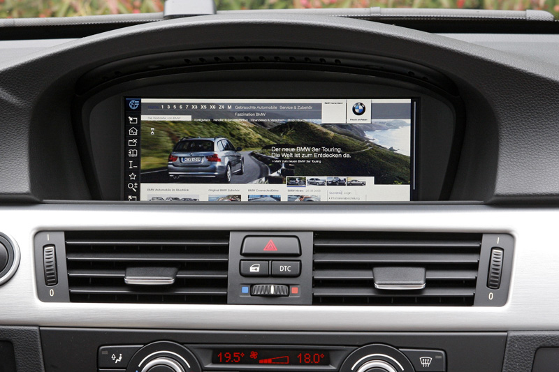 BMW 335d - Il display