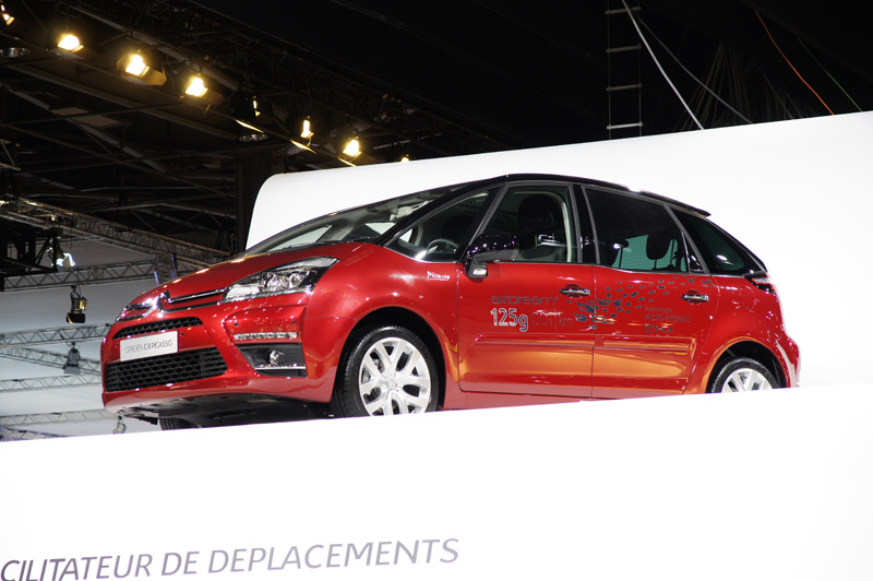 Citroën C4 Picasso restyling