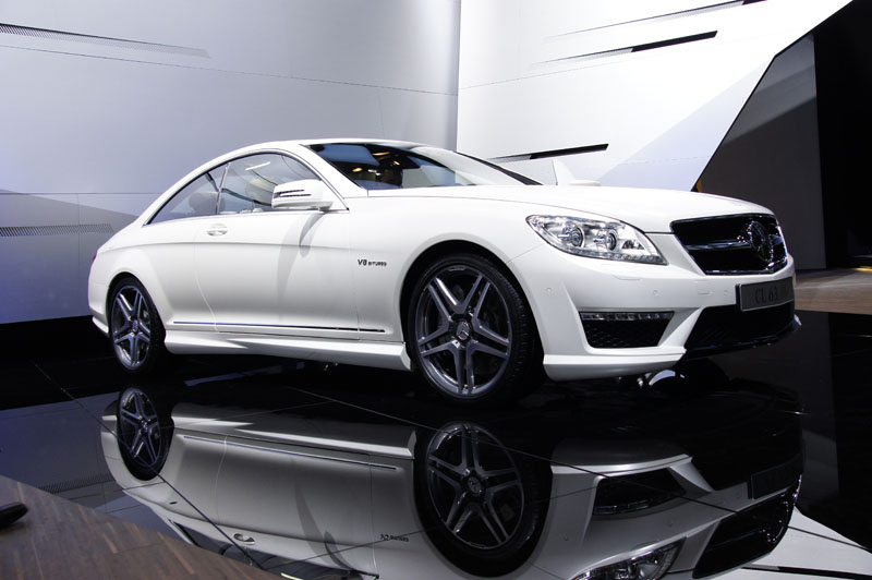 Mercedes CL 63 AMG restyling
