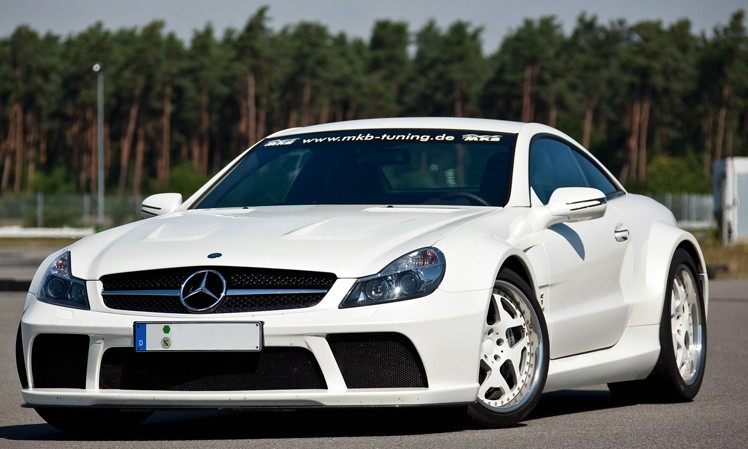 Mercedes SL 65 AMG Black Series MKB P1000