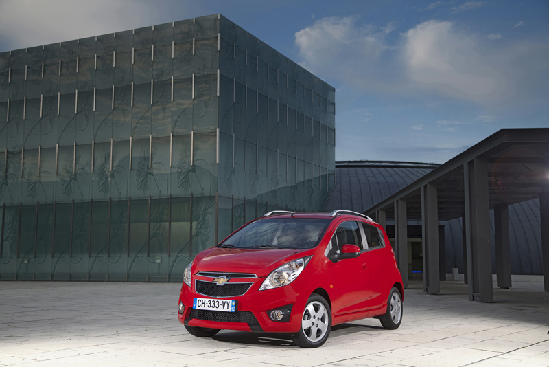 Chevrolet Spark - Il frontale