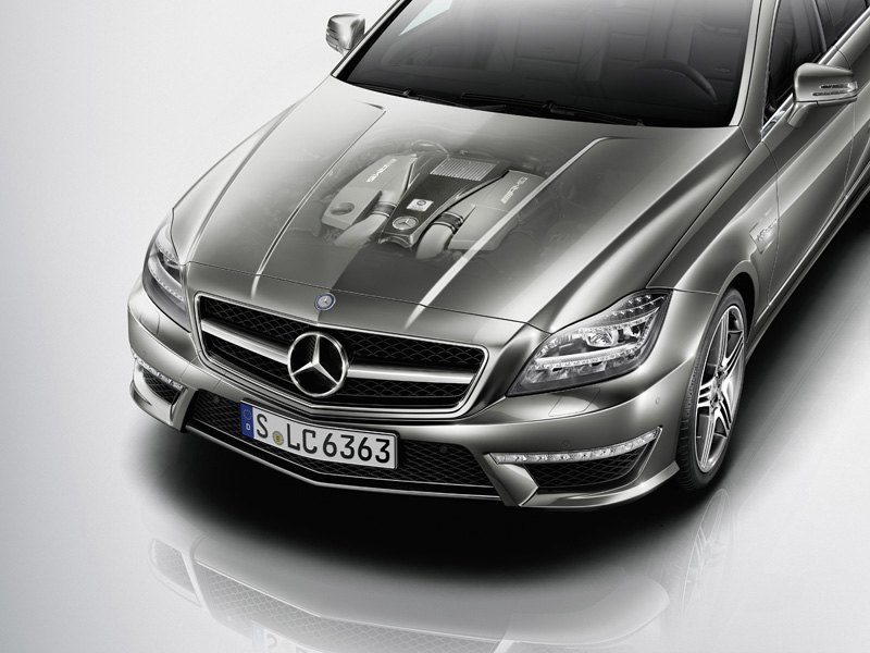 Mercedes CLS 63 AMG - Il motore
