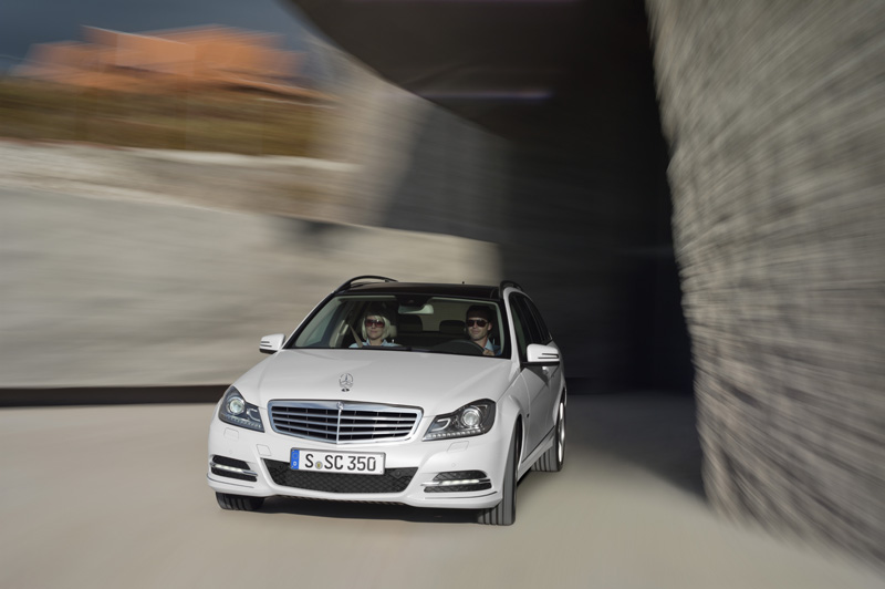 Mercedes classe C restyling - Il frontale