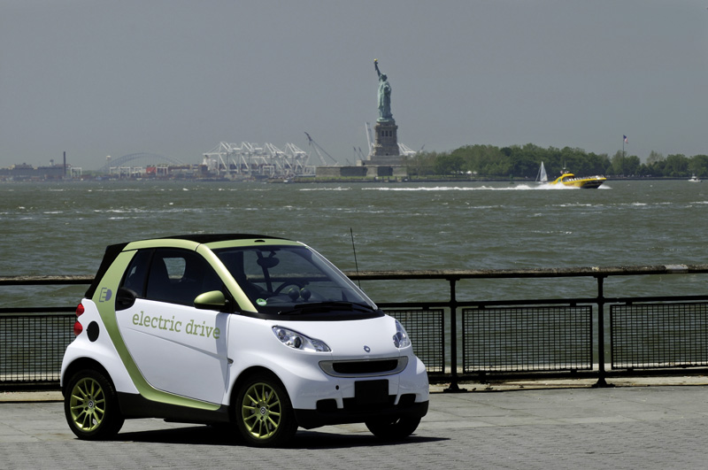 Smart fortwo Electric Drive - Il frontale