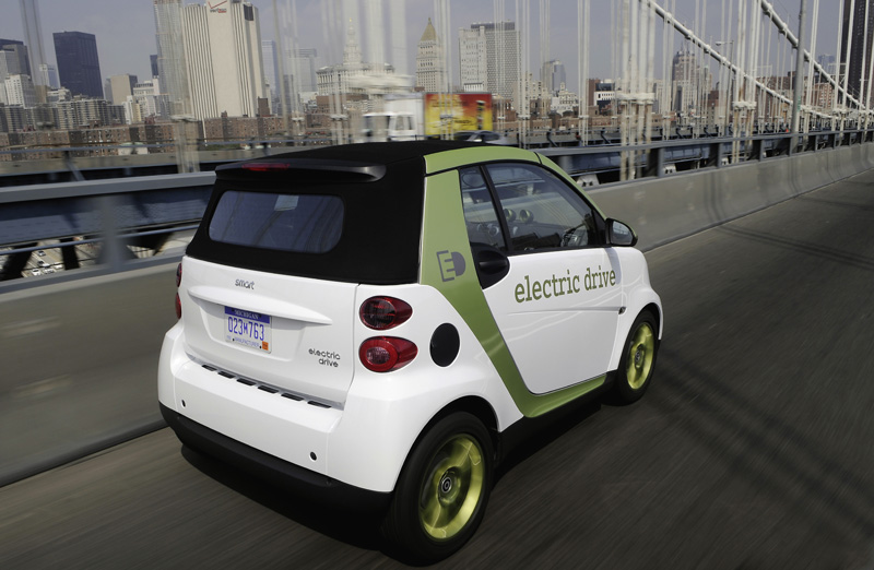 Smart fortwo Electric Drive - La coda