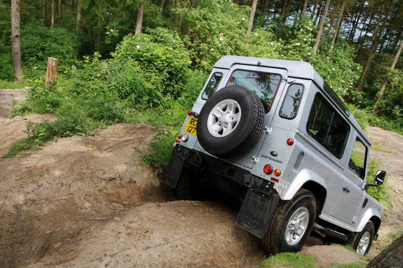 Land Rover Defender - La coda