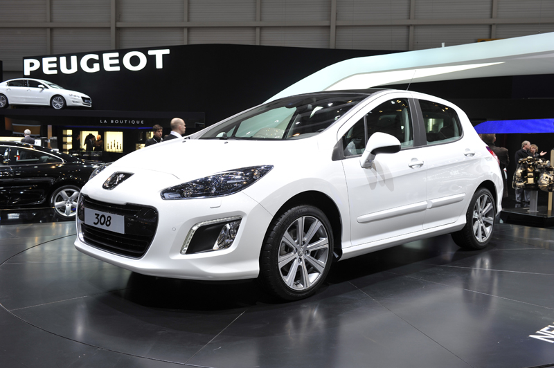 Peugeot 308 restyling