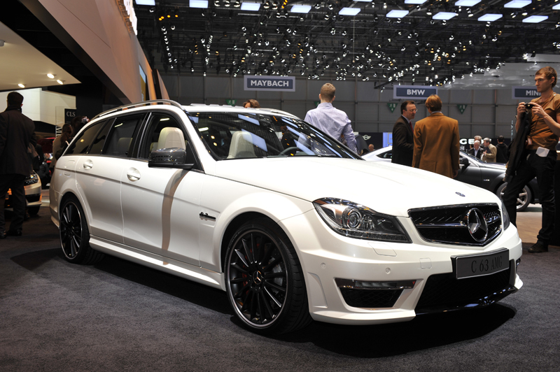 Mercedes C 63 AMG restyling