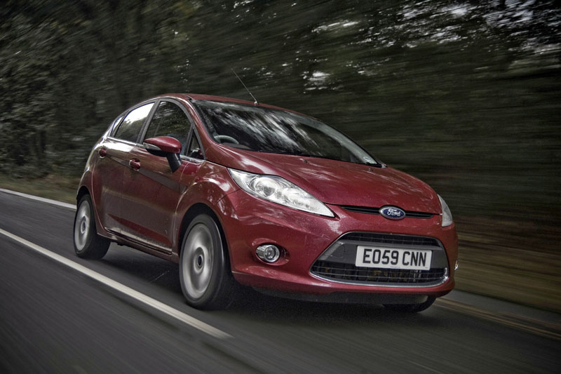 Ford Fiesta - Il frontale