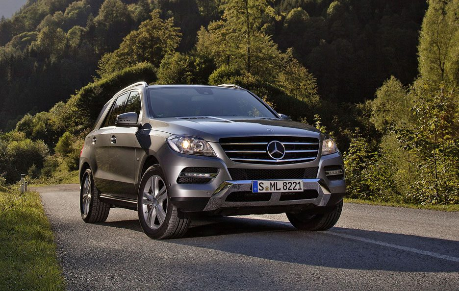 Mercedes ML 500 4Matic BlueEfficency - Frontale