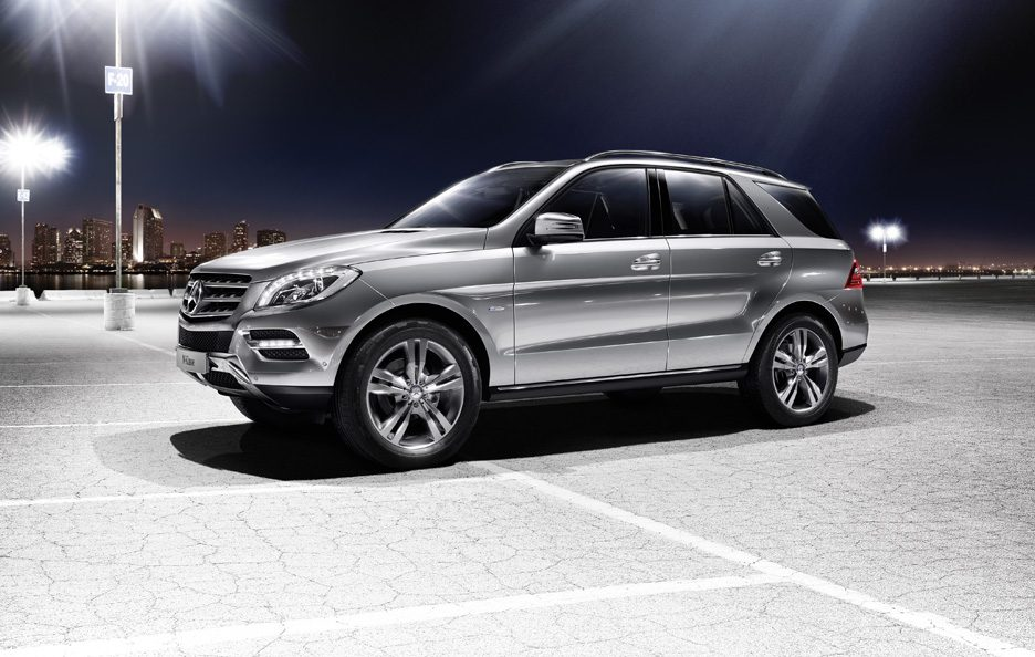 Mercedes ML 500 4Matic BlueEfficency - Laterale