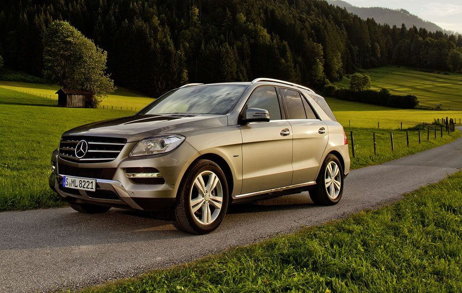 Mercedes ML 500 4Matic BlueEfficency - Profilo