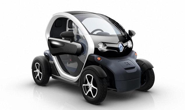 Renault Twizy - Il frontale