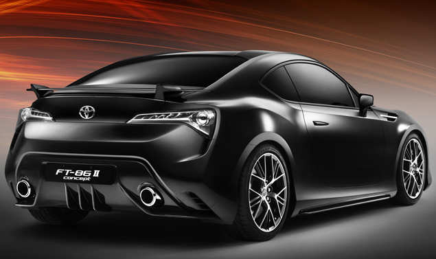 Toyota ft 86 - posteriore