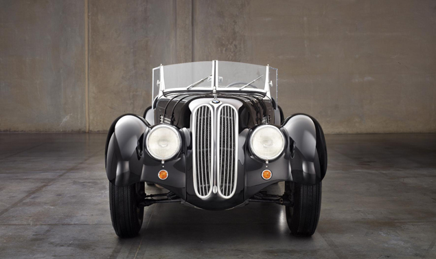 bmw 328 - frontale
