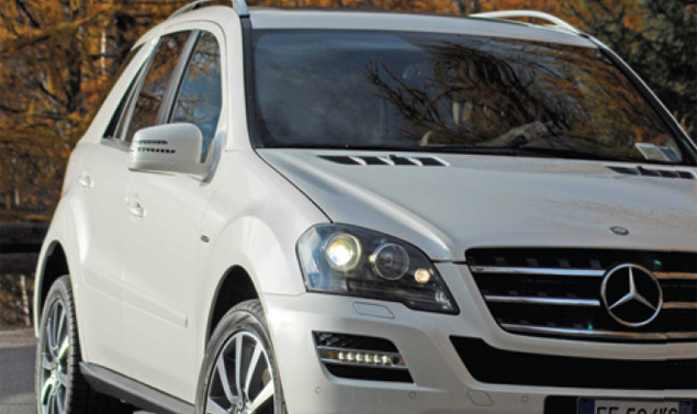 Mercedes ML350 CDI BlueTec