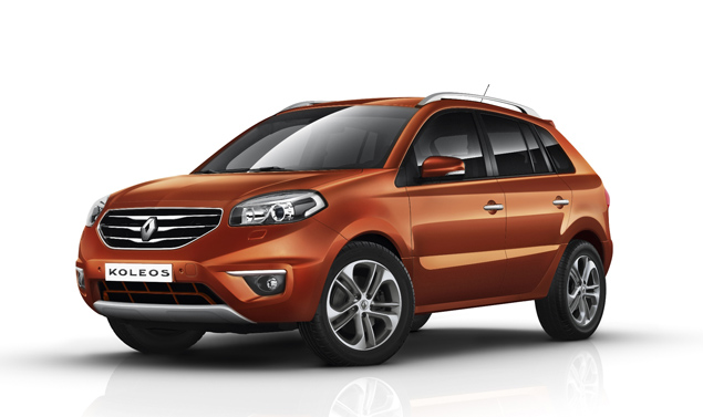 Renault Koleos - Il frontale Orange