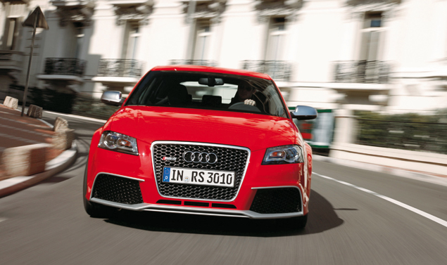 Audi RS3 Frontale