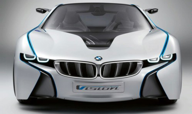 BMW Vision Efficient Dynamics -. Frontale