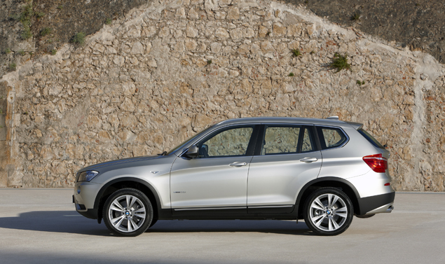 BMW X3 laterale