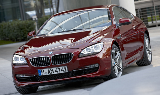 Bmw Serie 6 - Il frontale