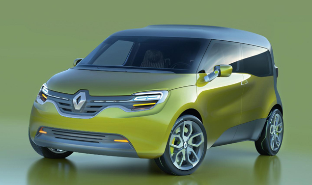 Renault Frendzy - Il frontale