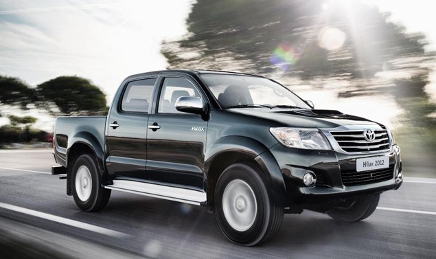 Toyota Hilux - Il frontale