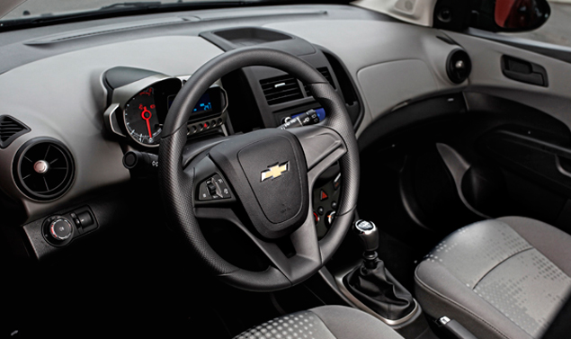 Chevrolet Aveo Interni