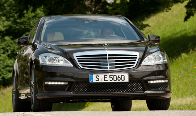 Mercedes Classe S Grand Edition - Il frontale