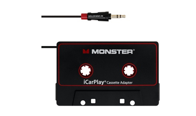 Monster iCarPlay Cassette 800