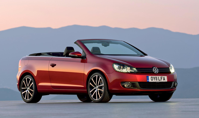 Golf Cabriolet - Il frontale