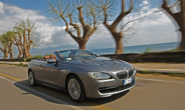 Bmw Serie 6 Cabrio Frontale